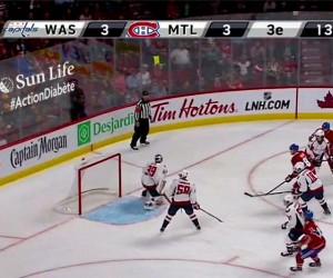 """NHL – Un affichage publicitaire """"virtuel"""" pendant certains matchs des Canadiens de Montréal"""
