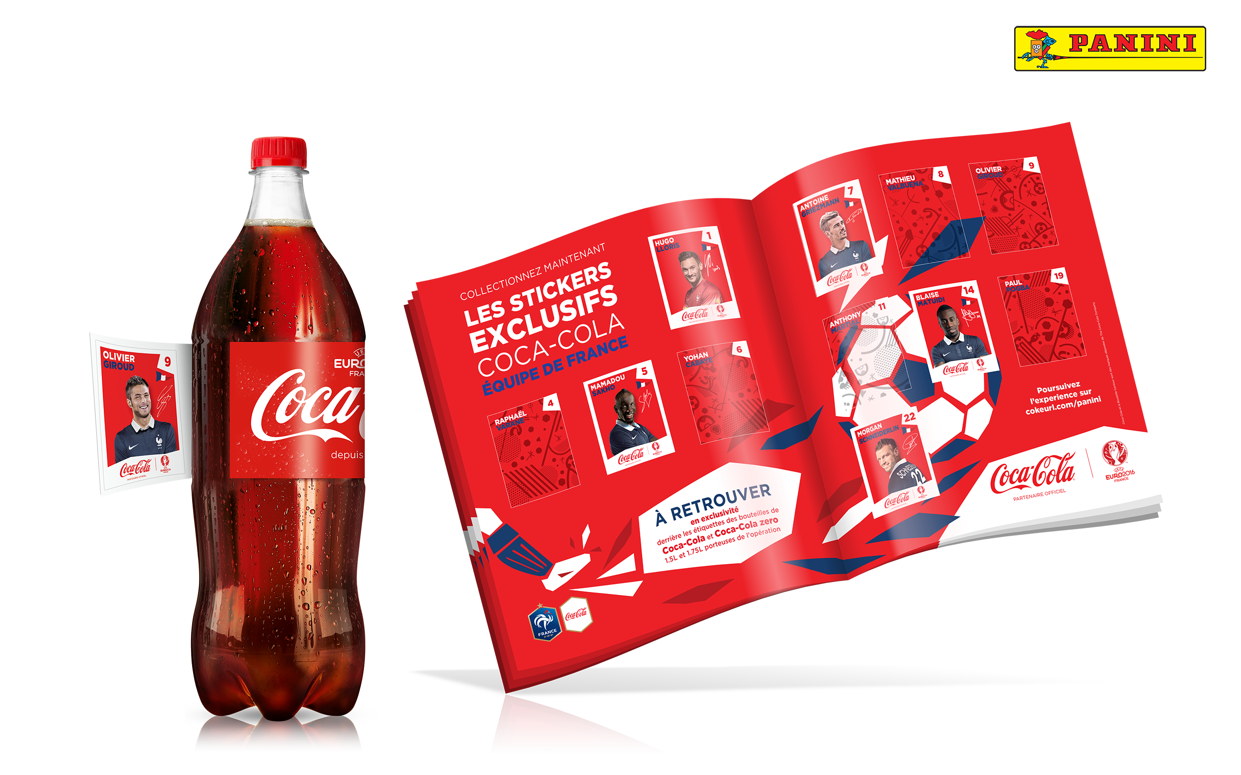 uefa euro 2016 comment coca cola va envahir le quotidien des fran ais dossier. Black Bedroom Furniture Sets. Home Design Ideas