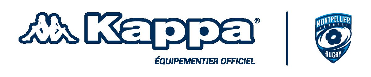 Kappa Montpellier Hérault rugby partenaire équipementier officiel