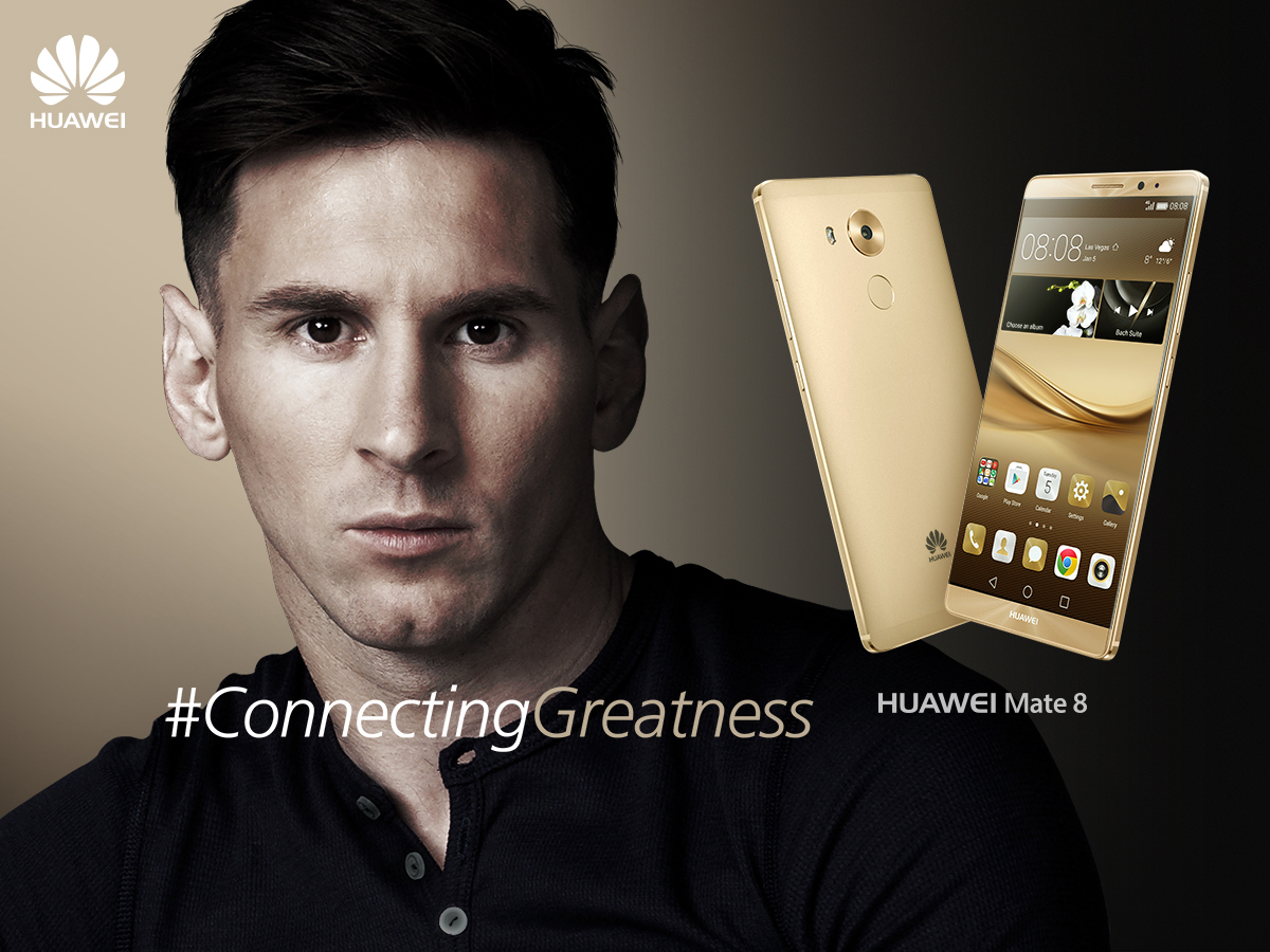 Lionel messi Huawei sponsor football fc barcelona