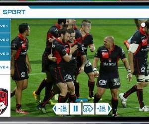 Le LOU Rugby donne accès à la vidéo à ses supporters en tribune grâce à l'application VOGO SPORT