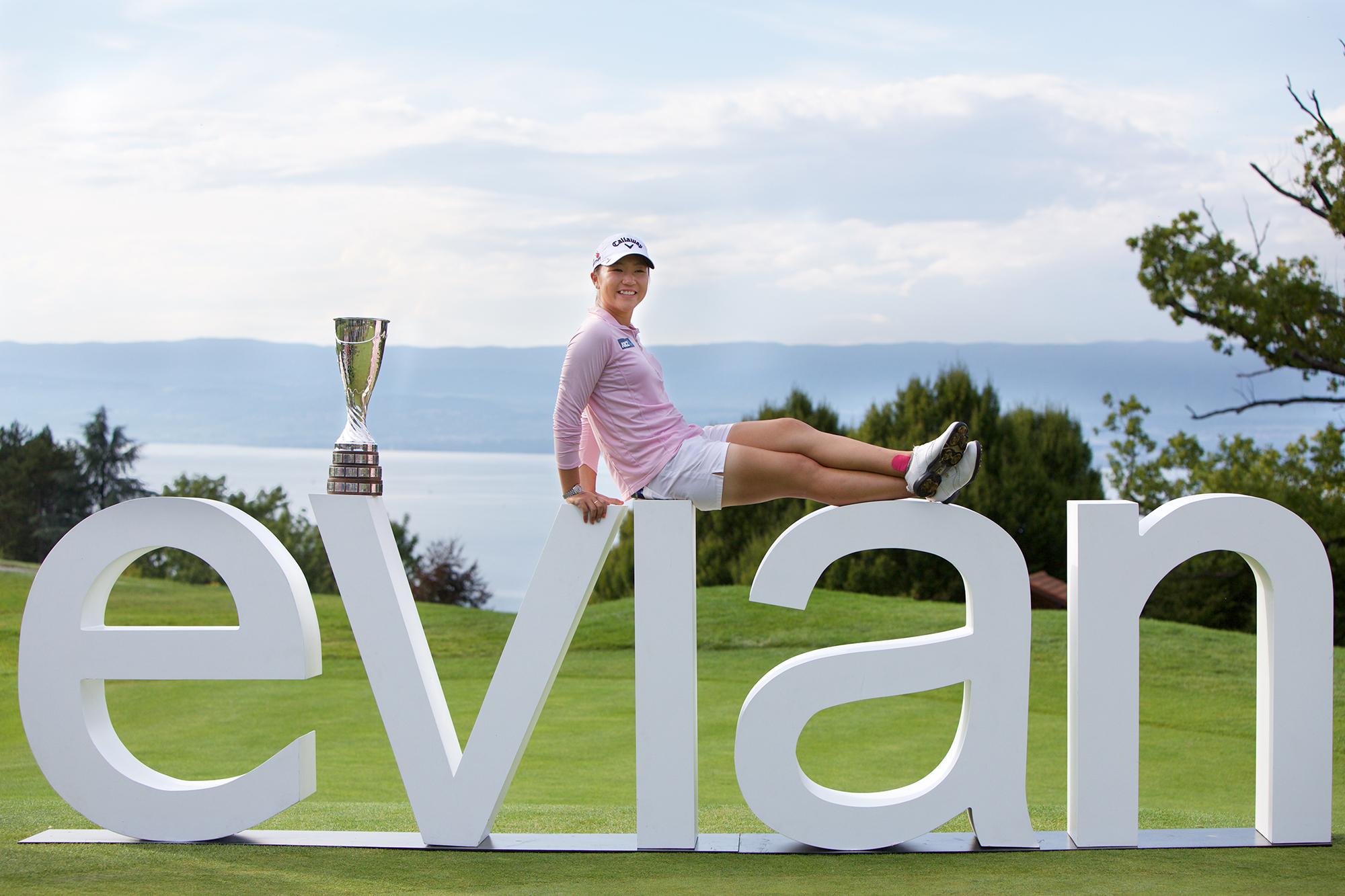 Lydia Ko evian sponsor golf