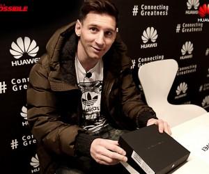 Sponsoring – Huawei mise sur Lionel Messi jusqu'en mars 2019