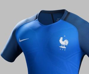 Nike dévoile les maillots de l'Equipe de France de Football pour l'UEFA EURO 2016