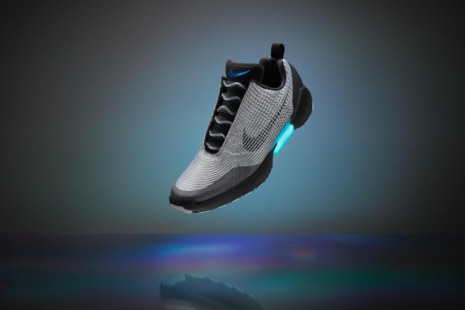 Nike HyperAdapt 1.0 adaptive lacing 2016