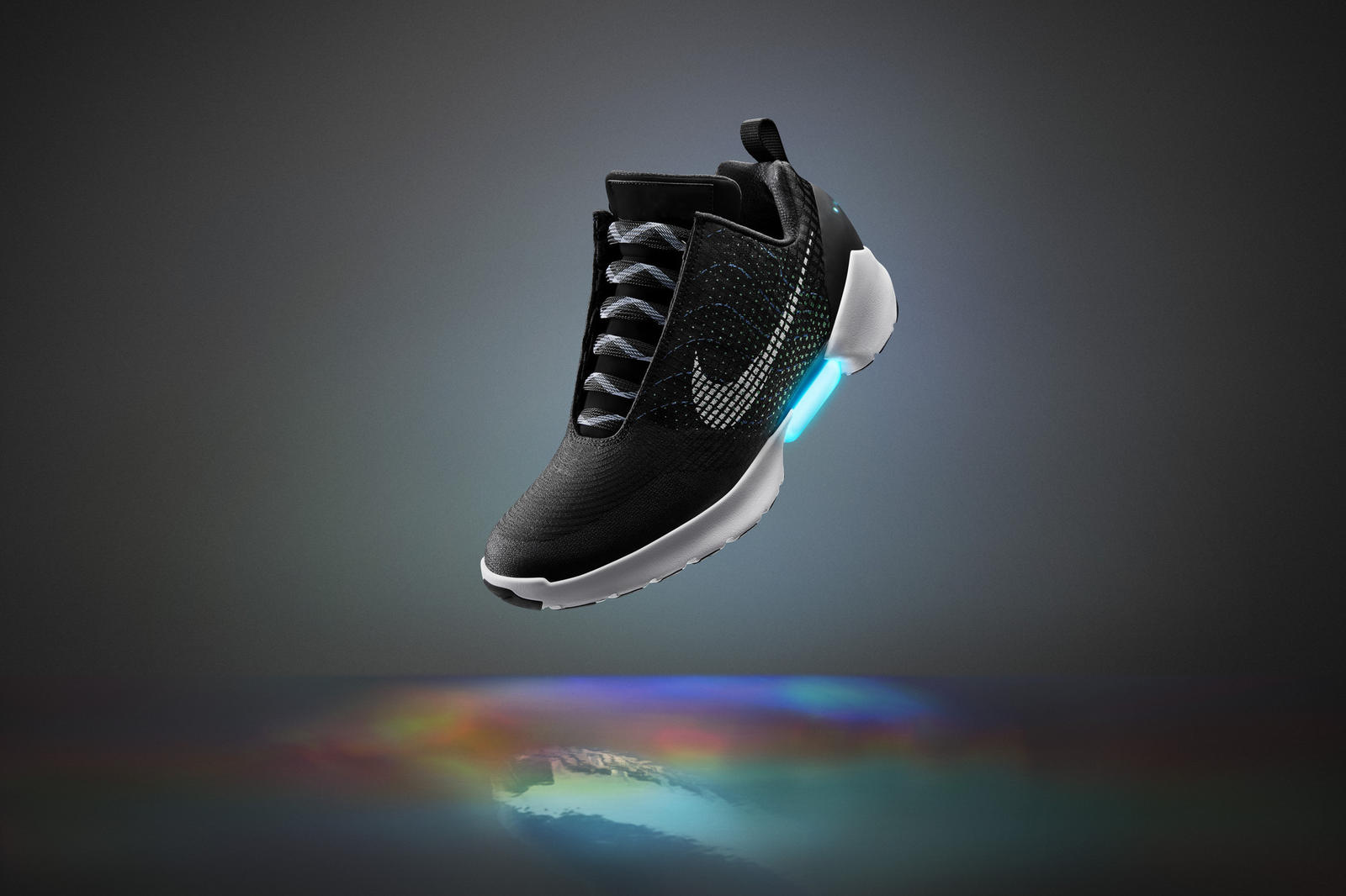 Nike HyperAdapt 1.0 black adaptive lacing 2016