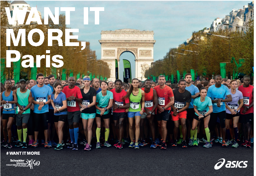 asics collection marathon de paris