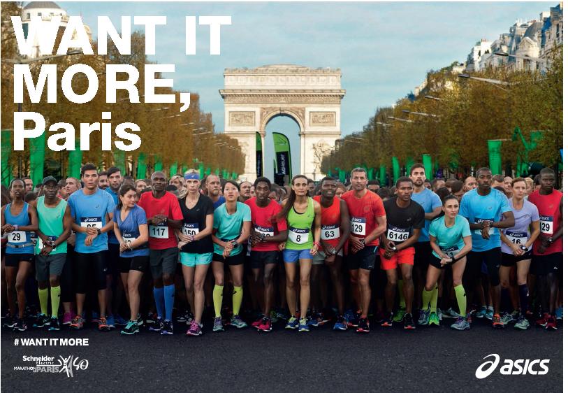 asics fuzex marathon de paris 2016