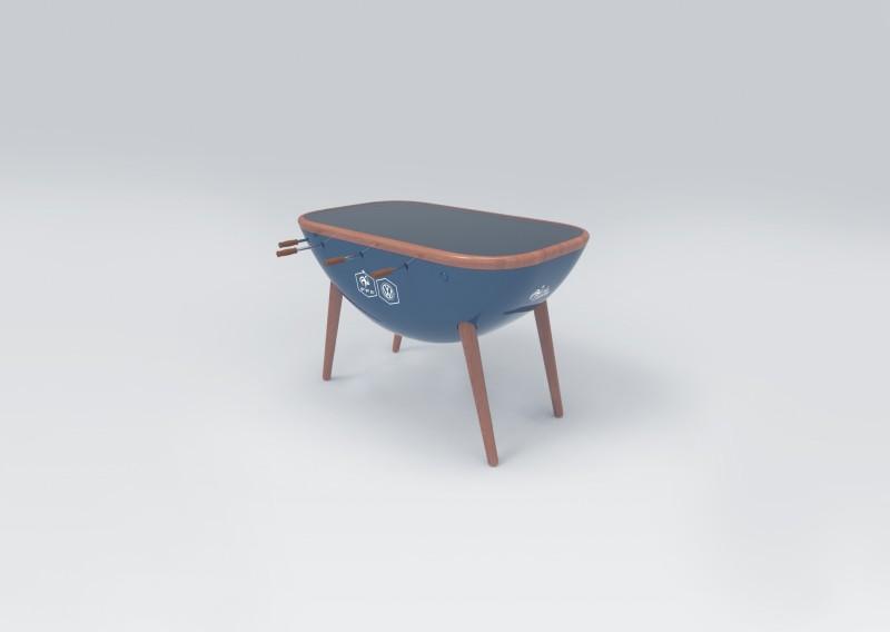 volkswagen mise sur le baby foot connect pour rapprocher. Black Bedroom Furniture Sets. Home Design Ideas