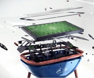 Volkswagen mise sur le baby-foot connecté pour rapprocher les Fans des joueurs de l'Equipe de France