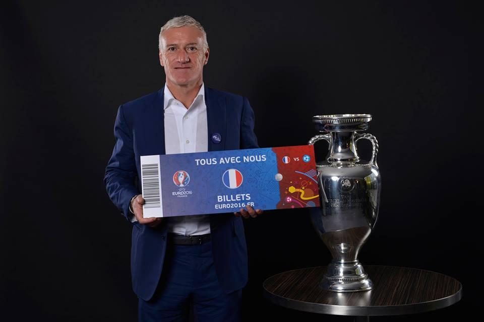 billets UEFA EURO 2016 france