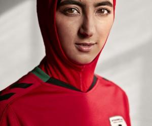Foot féminin – hummel intègre un hijab sur le nouveau maillot de l'Afghanistan