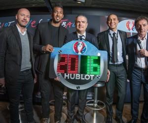 EURO 2016 – Hublot dessine le panneau du 4e arbitre et une montre à 22 800€