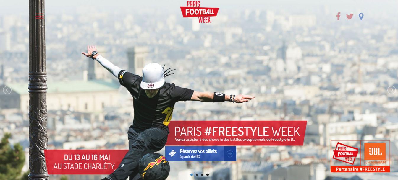 paris football week 2016 stade charléty