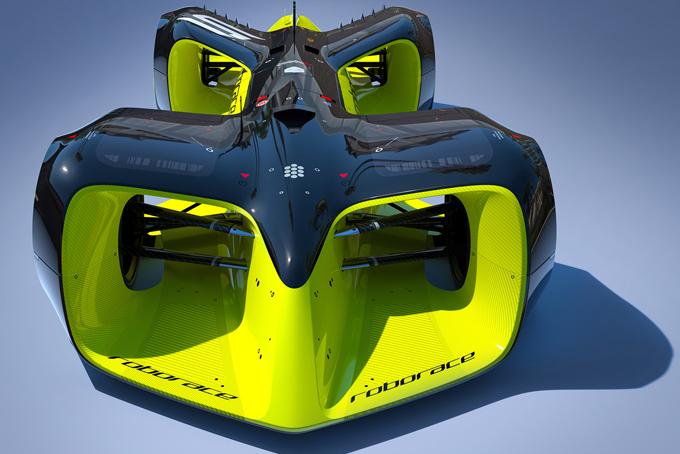 Image by Chief Design Officer Daniel Simon / Roborace Ltd.