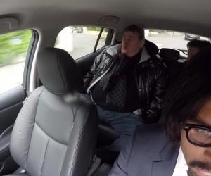 Quand Nissan et Thiago Silva piègent le journaliste Pierre Ménès dans une caméra cachée