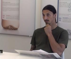 Quand Zlatan Ibrahimovic fait passer un entretien d'embauche en caméra cachée pour son sponsor Vitamin Well
