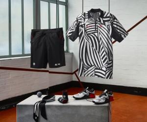 Roland-Garros 2016 – Tsonga, Ivanovic, Berdych, Zverev… Des tenues «zèbre» pour les ambassadeurs adidas