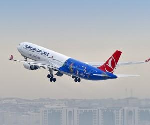Turkish Airlines dévoile son avion aux couleurs de l'UEFA EURO 2016