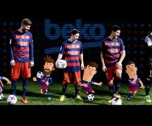 Beko, Partenaire Officiel du FC Barcelone et de votre quotidien