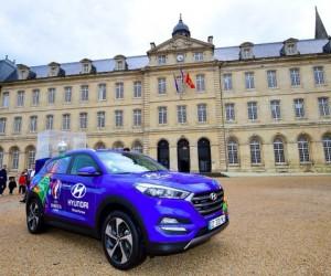 Hyundai, Kia, beIN SPORTS, SNCF… La tournée du Trophée de l'EURO 2016 fait le bonheur des sponsors