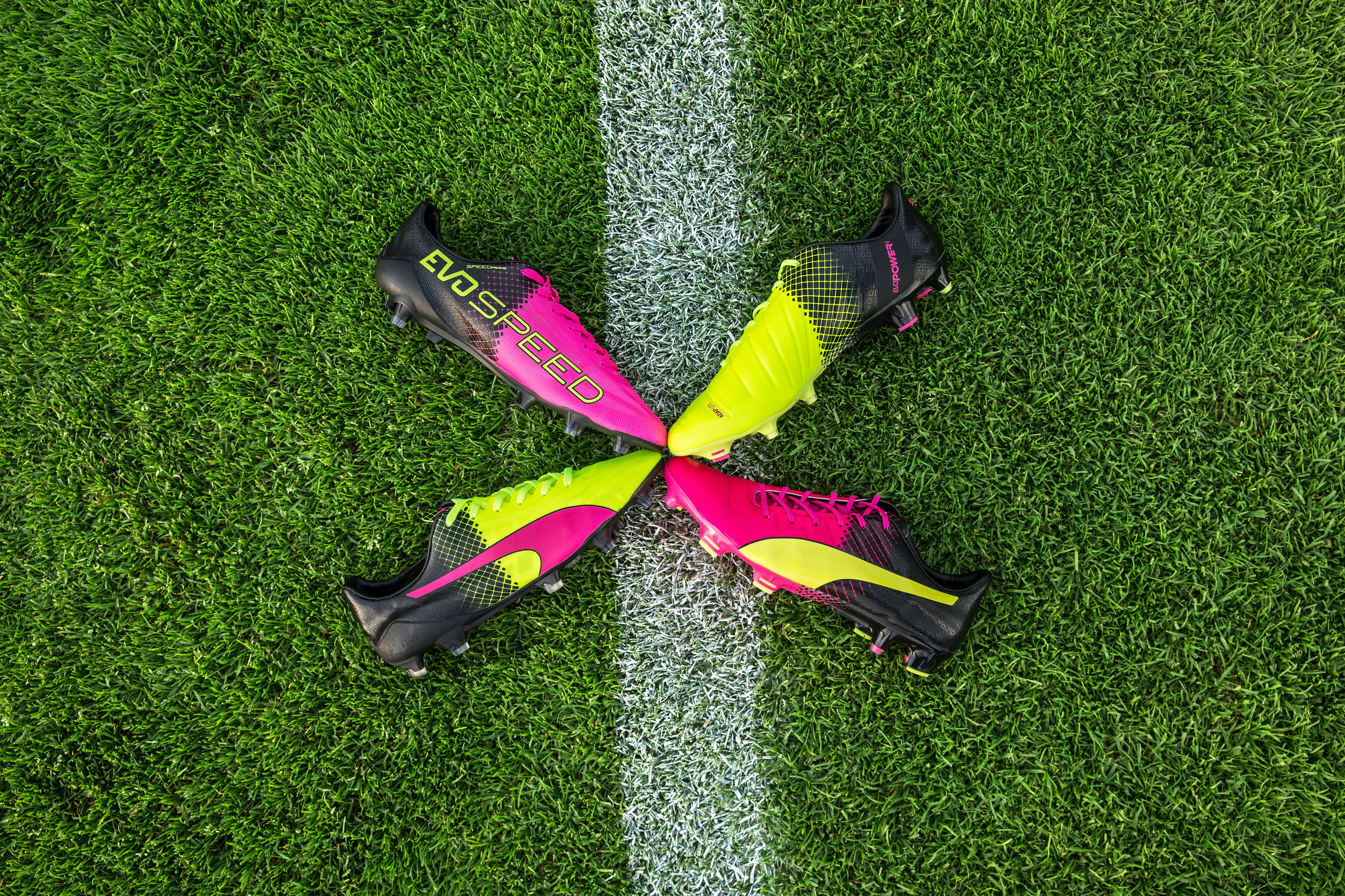 PUMA Tricks Collection evoPOWER and evoSPEED 2016 football boots griezmann fabregas