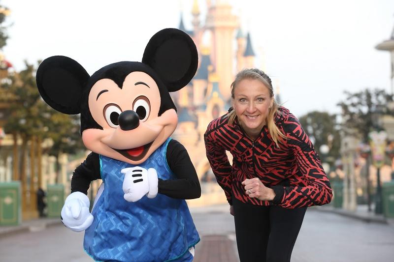 Paula Radcliffe disneyland paris semi marathon 2016 running