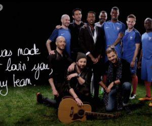 EURO 2016 – Carrefour s'offre un clip avec Skip The Use et des joueurs de l'Equipe de France de Football