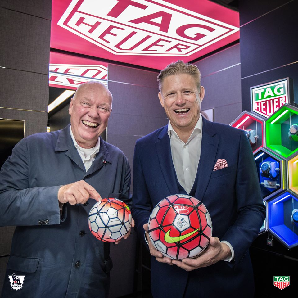 TAG HEUER PREMIER LEAGUE FOOTBALL SPONSOR