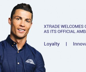 Sponsoring – Cristiano Ronaldo signe avec la société de trading en ligne XTrade