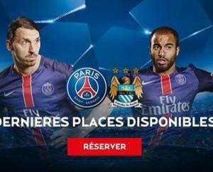 Les dernières places en vente pour PSG – Manchester City varient de 69,5€ à 1 990€ !
