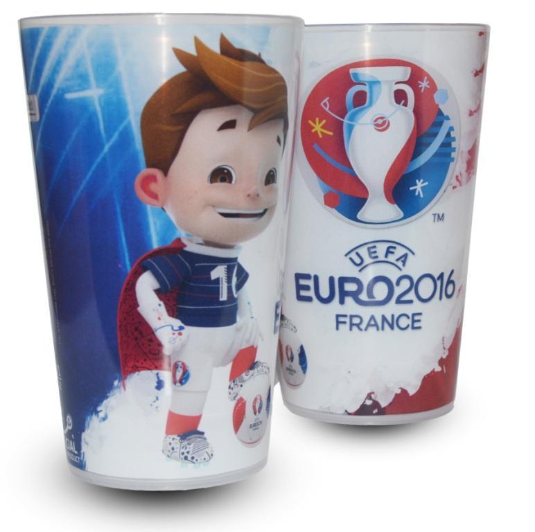 gobelet UEFA EURO 2016 France super victor