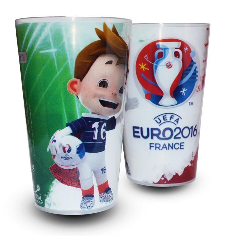 gobelet UEFA EURO 2016 Italie super victor