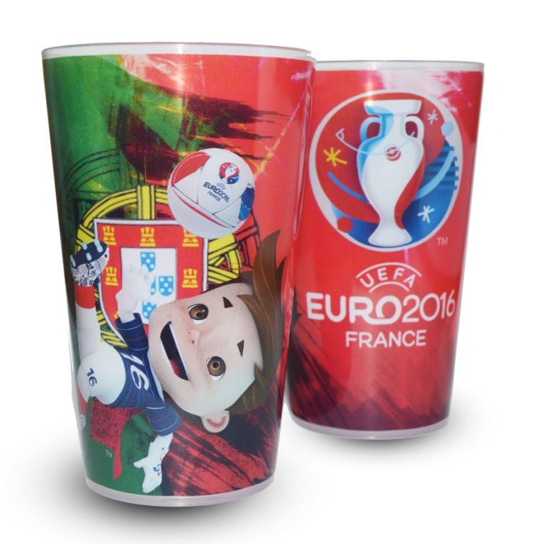 gobelet UEFA EURO 2016 Portugal super victor