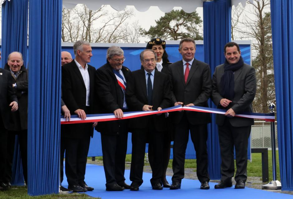 inauguration clairefontaine 2016 football CNF