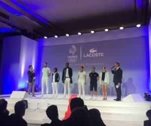 Lacoste dévoile les tenues officielles de l'Equipe de France Olympique pour les JO de Rio 2016