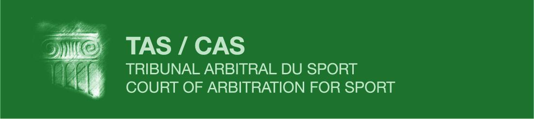 logo TAS tribunal arbitral du sport