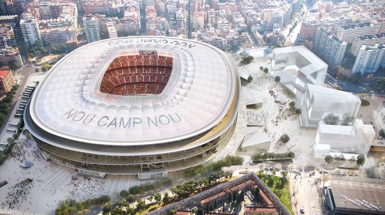 nou camp nou fc barcelona stadium
