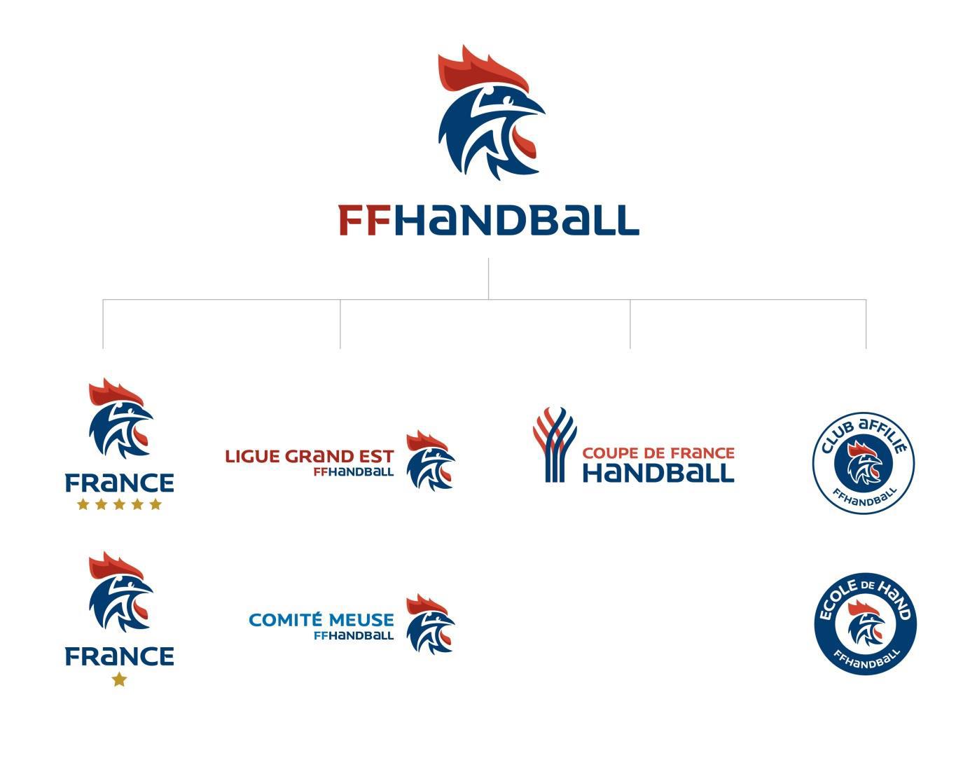 nouvelle identité visuelle FFHANDBALL
