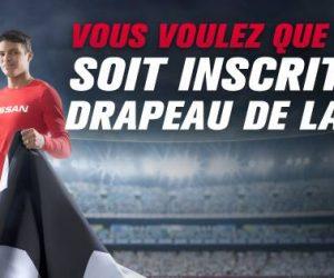 Nissan et Thiago Silva veulent voir votre nom sur le drapeau de la Finale de l'UEFA Champions League