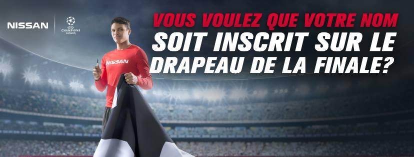 thiago silva Nissan drapeau UEFA Champions League san siro milan