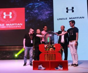 Quand la nouvelle marque chinoise « Uncle Martian » copie le logo d'Under Armour