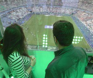 La finale OM – PSG à 45 mètres de hauteur avec la Nacelle PMU installé sous le toit du Stade de France