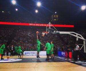 Comment SFR a activé ses droits à 360° pour les Finales de la Coupe de France de basket