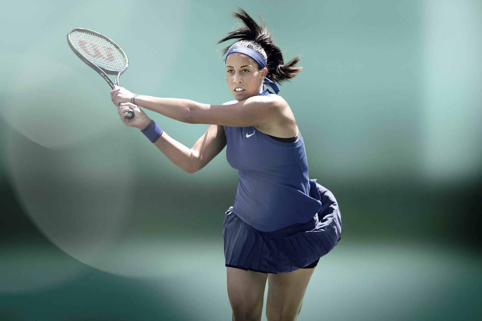 Madison_Keys roland garros 2016 outfit nikecourt nike tennis