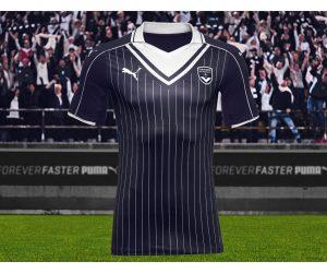 Puma dévoile le nouveau maillot domicile «vintage» 2016-2017 des Girondins de Bordeaux