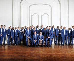 2 600€, le prix du costume officiel Smalto des Bleus pour l'Euro 2016