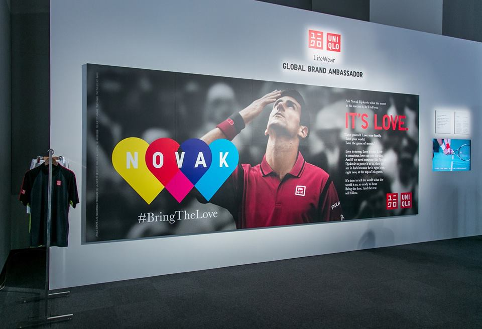 Uniqlo Djokovic roland garros 2016