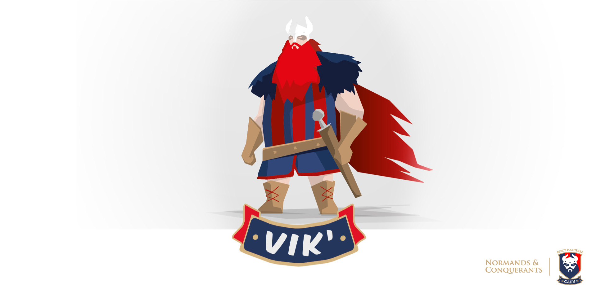 Vik' nouvelle mascotte Stade Malherbe caen 2016