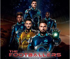 Le film The Footballers avec les joueurs de l'Equipe de France de Football en salle le 27 mai
